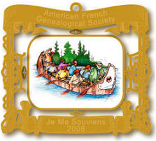 2008 The Voyageurs Ornament
