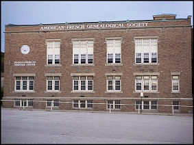 The American French Genealogical Society - AFGS Building