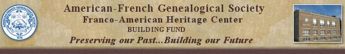 AFGS Building Fund header